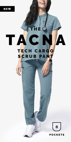 Why We Love This Super versatile and designed for hightech performance and maximum comfort the Tacna Tech Cargo Scrub Pant has a soft yoga waistband, adjustable bungee hem and NINE functional pockets Collection Limited Edition Scrubs Collection Nin - f Ultrasound Tech, Morning Inspiration, Scrub Pants, Height And Weight, Nurse Life, Work Fashion, I Got This, Scrubs, Trust