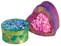 These boxes are great for holding chocolates, jewelry, and other gifts for your sweetheart!