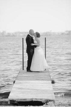 Fall Wedding By Lake