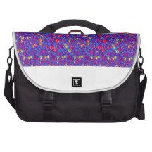 Infinity Strip TEMPLATE add text image move up dow Laptop Commuter Bag