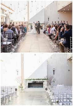 Single, delicate blooms were seemingly suspended from the sky, creating a light but dreamy ceiling of flowers.  {Floral design:  Everybody Loves Flowers   // Photography  Jessica Q Photography} Click for more ideas!