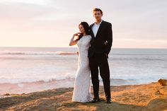 seaside wedding inspiration shoot - photo by John Schnack Photography http://ruffledblog.com/seaside-wedding-inspiration-shoot