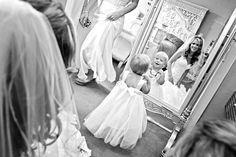 This little girl is too cute for words! Photo by Allison. #MinneapolisWeddingPhotographer #Love #KidsinWeddings #Adorable
