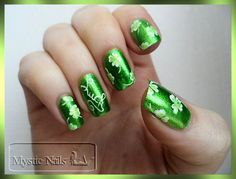 nail art st patrick's day