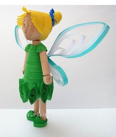 3D Quilling: Tinkerbell Fairy