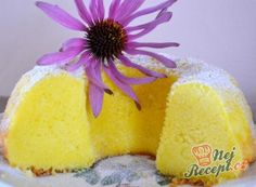 Supple Quark gugelhupf with pudding Cake Flavors, Sweet Cakes, Vanilla Cake, Pineapple, Muffins, Deserts, Good Food, Food And Drink, Sweets
