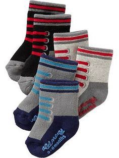 Graphic Sock 3-Packs for Baby