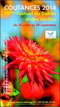 19e Festival du Dahlias et des Jardins. Du 15 juillet au 30 septembre 2014 à coutances.
