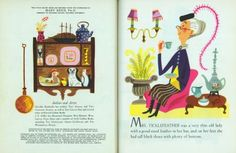 Lucky Mrs. Ticklefeather  Illustrated by J.P. Miller  Written by Dorothy Kunhardt  Copyright 1951