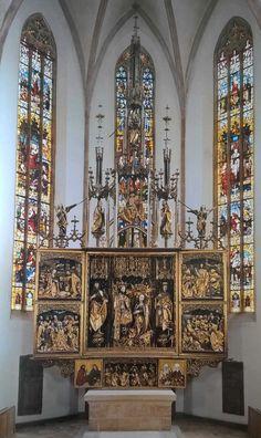 Hochaltar, Stadtkirche St. Johannes und St. Martin, Schwabach, um 1505