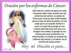 Oración por los enfermos de Cancer