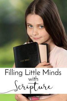 Filling Little Minds with Scripture: A Call for Diligence