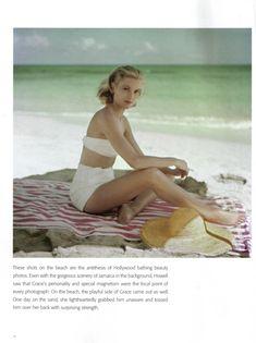 Grace Kelly #vintage #beach