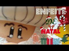 Enfeite de Natal em E.V.A(PAPAI NOEL EM E.V.A)DIY. - YouTube