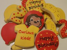 The Cookie Puzzle: Curious Cookies...Happy Birthday Kade!