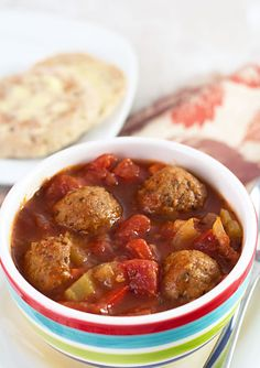 Next time you're yearning for some Italiano grub, skip the carb-filled pastas and pizzas and throw some veggies, cocktail meatballs, beef stock, and olive oil into the crock and create this exceptionally satisfying meal, instead.   Get the recipe at It's Yummi.