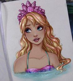 Barbie Cartoon, Cartoon Art, Mattel Barbie, Barbie Dolls, Barbie Drawing, Mermaid Barbie, Barbie Images, Barbie Movies, Poses References
