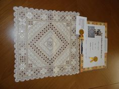 Lefkara lace ~ antique sample ~ from D&A Lefkara Handicraft Centre