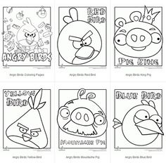 1000 Images About Angry Birds Social Skills On Pinterest Anger Management Coloring Pages