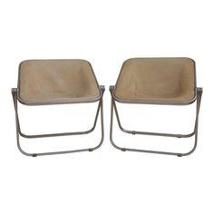 Image of Giancarlo Piretti Italian Plona Chairs - Set of 5