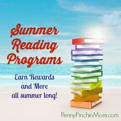 Summer Reading Programs 2014 | www.pennypinchinmom.com