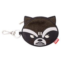 Marvel - Guardians of the Galaxy - Rocket Raccoon Loungefly Clip Coin Purse  - ZiNG Pop Culture e26422138a7f