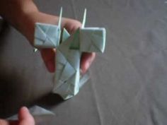 [Origami] Cross Sonobe - YouTube