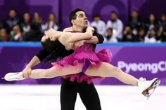Luca Lanotte and Anna Cappellini Photos Photos: Figure Skating - Winter Olympics Day 2 Dallas Cheerleaders, 2018 Winter Olympic Games, Running Pictures, Pyeongchang 2018 Winter Olympics, Team Events, Dance Shorts, Ice Skaters, Ice Dance, February 11