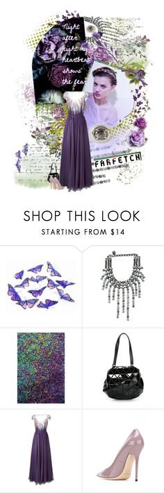 """""""Farfetch - its just overkill"""" by virtual-closet-collector ❤ liked on Polyvore featuring Lanvin, Therapy, Urban Outfitters, Bao Bao by Issey Miyake, Zuhair Murad, Jimmy Choo, Henson and Laura Ashley"""