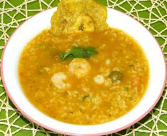 Asopao de Camarones Boricua Puerto Rican Shrimp and Rice Soup