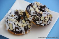 Almond Joy Doughnuts