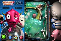 Two months ago, a rumor first surfaced that Matmi was readying an HD version of its iconic Monster Pinball game. And now the title is available in the App Store for $1.99.