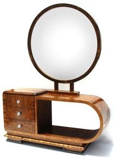 Art Deco Mirror and Dresser