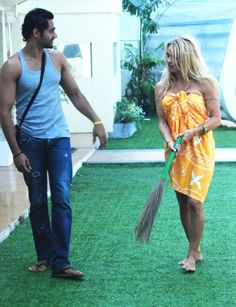 Pamela Anderson appears on Bigg Boss