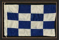Nautical Flag Print, N on http://OneKingsLane.com