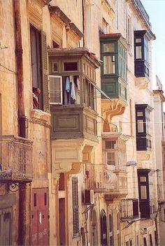 Storefronts, Valetta, Malta..