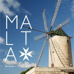 Windmill in Ta' Kola, Gozo