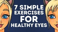 7 basic exercises to KEEP YOUR EYES HEALTHY l 5-MINUTE CRAFTS