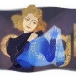 Google doodle dedicated to the 110th anniversary of Claudia Shulzhenko