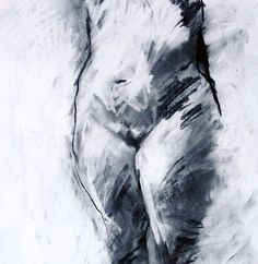 David Hewitt Artist - Life Drawing #Art #Drawing #Charcoal