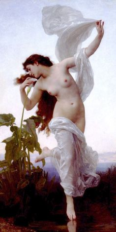 William-Adolphe Bouguereau (1825-1905) - L'aurore (1881)