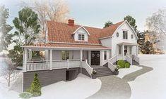 Den Vita Drömgården: Sveriges Charmigaste hem skal bli snyggt på utsidan
