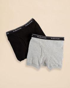 Ralph Lauren Underwear Boys' Boxer Briefs 2 Pack - Sizes Xs-xl