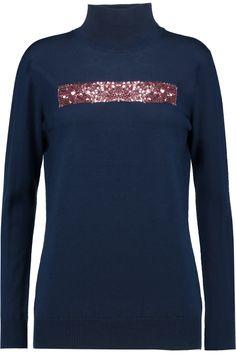 MARKUS LUPFER Sequinned merino wool sweater. #markuslupfer #cloth #sweater