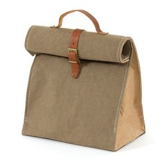 Sac Lunch Paper Bag Olive