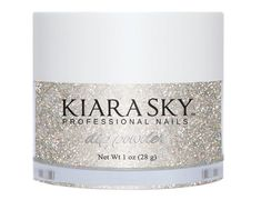 Shine bright with Kiara Sky's silver sparkle dip powder. The felling nutty powder perfectly complements the entire Ice Cream Parlor Collection. Silver Sparkle Nails, Plum Nails, Lilac Nails, Purple Glitter, Plum Purple, Light Purple, Powder Manicure, Dipped Nails, Dip Powder