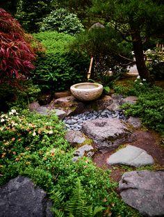 Japanese Garden of Portland stroll path