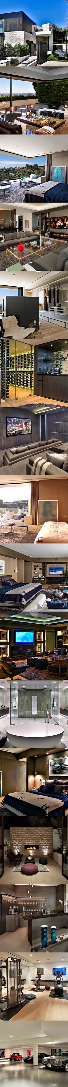 """This stunning modern contemporary luxury residence with sweeping views over the entire L.A. basin is perched on a premier lot in the celebrity studded """"Bird Streets"""" overlooking the sunset strip on Oriole Way. This brand new estate was architected to deliver the ultimate California lifestyle with meticulously clean lines and wide-open spaces throughout. Walls of […]"""