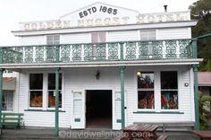 Golden Nugget Hotel, Shantytown, near Greymouth, West Coast, South Island, New Zealand