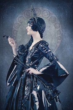 Jenny Hellström - Victoria Lovelace - hair:makeup Mariella Angner - designer Pomp-A-Dour Clothing